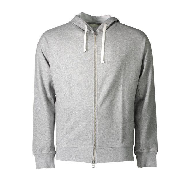 Full Zip Hoodie - Grey