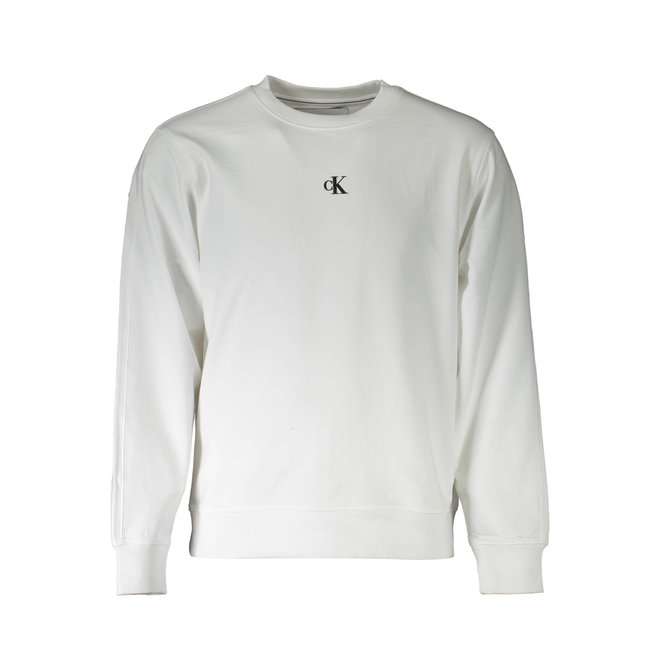 Organic Cotton Logo Sweatshirt - White