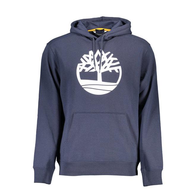 Men's Tree Logo Overhead Hoodie  - Blue