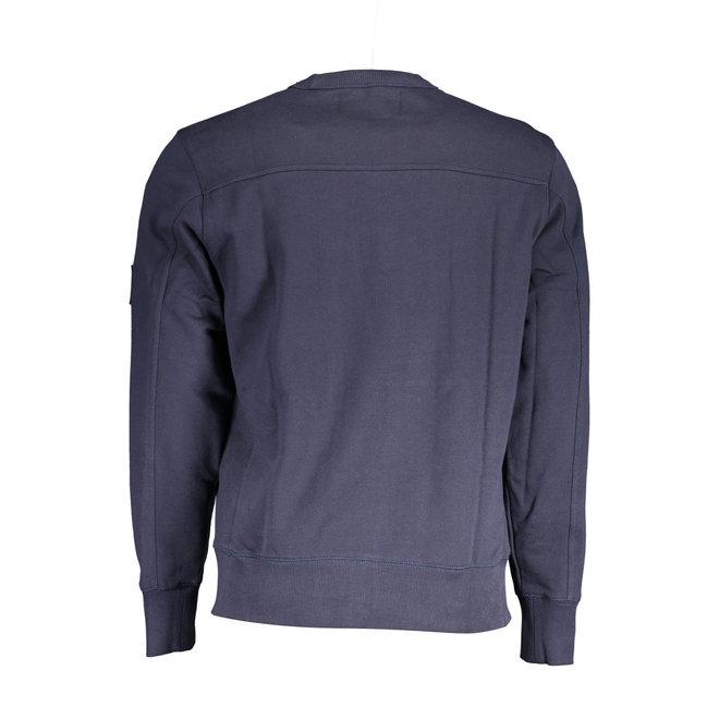 Organic Cotton Sweatshirt -Navy blue