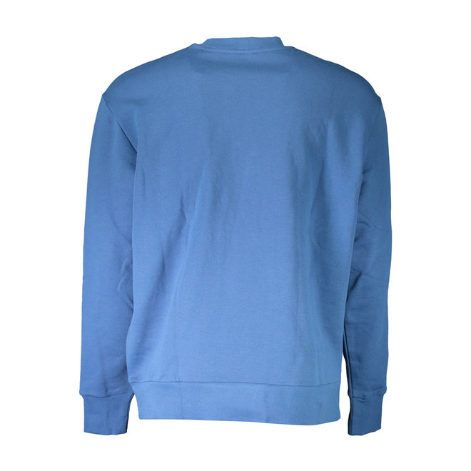 S-Crew Division | Crew-neck sweatshirt with 90's Diesel logo - Blue