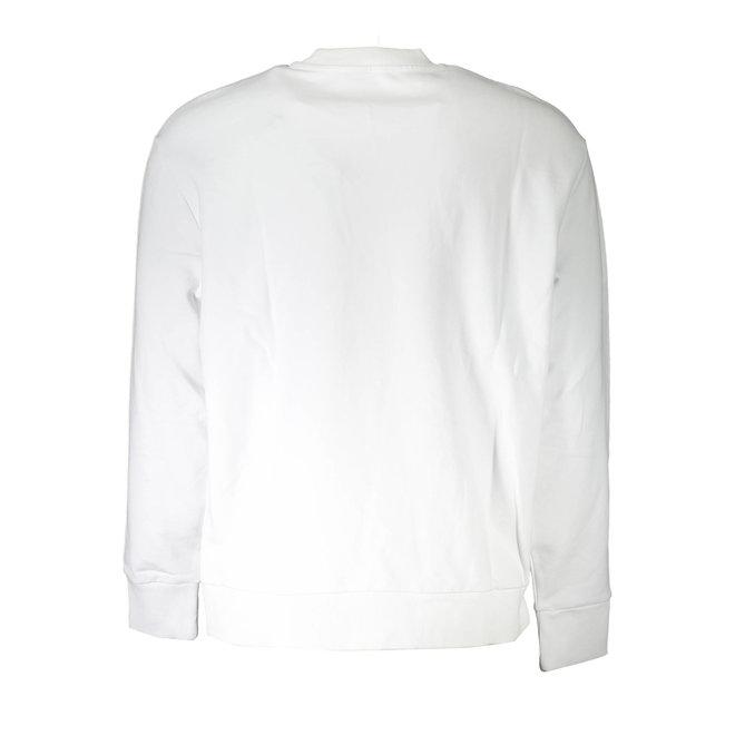S-Samy Crew neck sweatshirt with double logo - White
