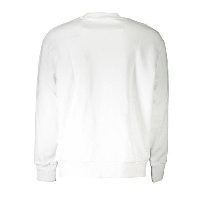 S-Crew Division | Crew-neck sweatshirt with 90's Diesel logo - White