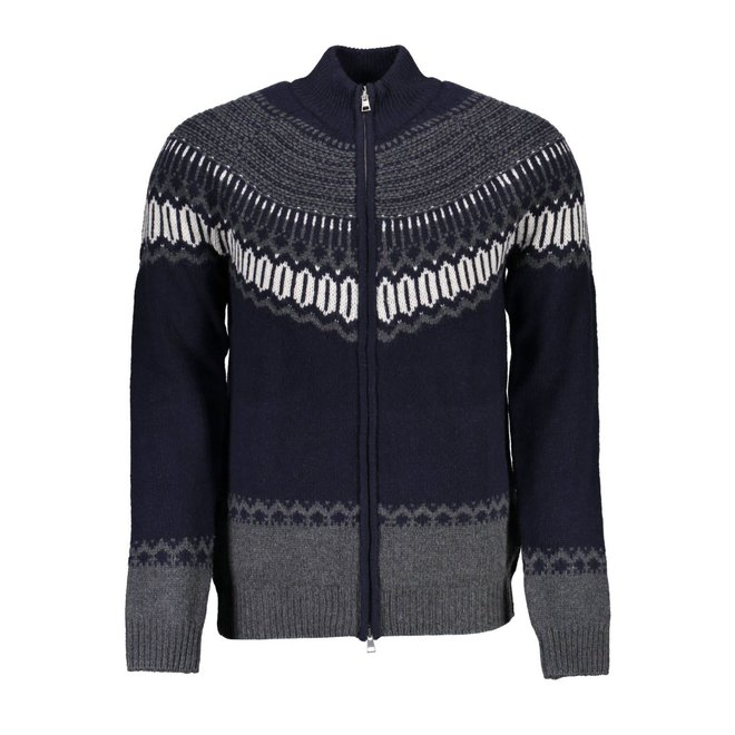 Fairisle Holiday Zip Cardigan Jacket men