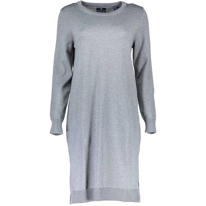 Merino Wool Dress - Grey