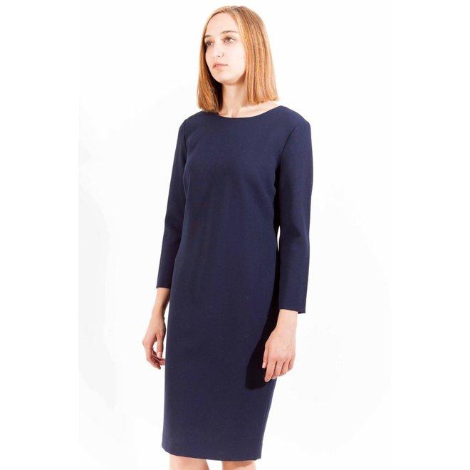 Basic  Women Dress - Blue