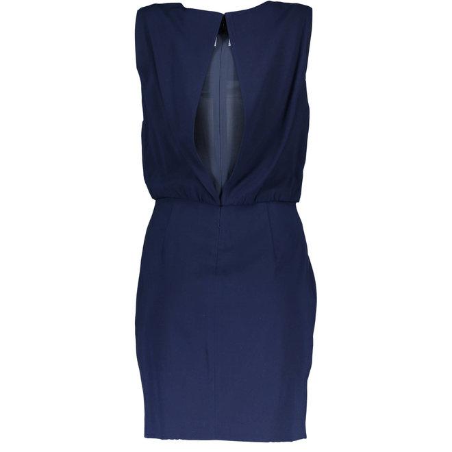 Crepe Stretch Dress - Evening Blue
