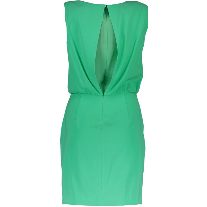Crepe Stretch Dress - Green