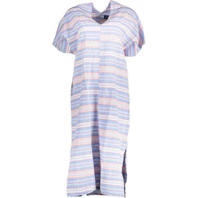 Multi Striped Dress - Nautical Blue