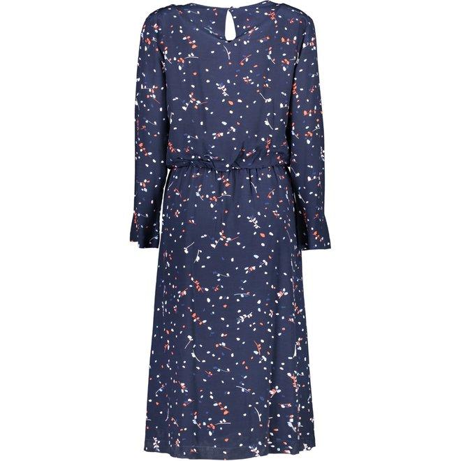Diamond G - Fall Leaves Printed Dress