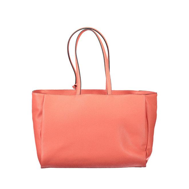 Handbag Sided Shopper W/Laptop Sleeve  - Orange