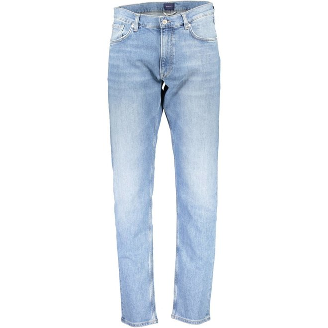 Tapered jeans -  Light blue