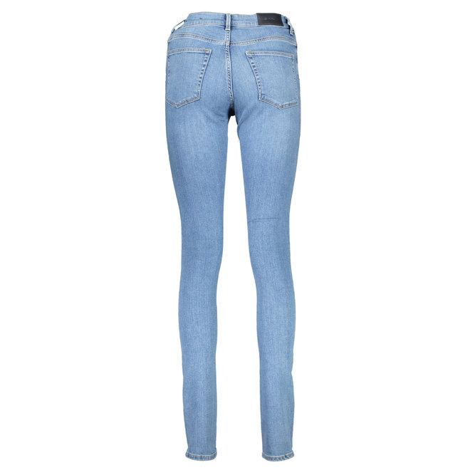 Skinny Fit Super Stretch Jeans - Light Blue