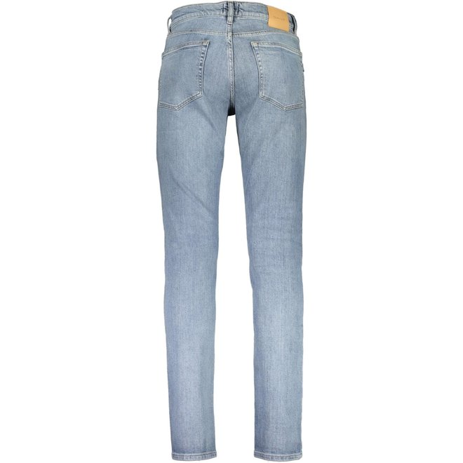 Slim fit Jeans - Light Blue Worn In
