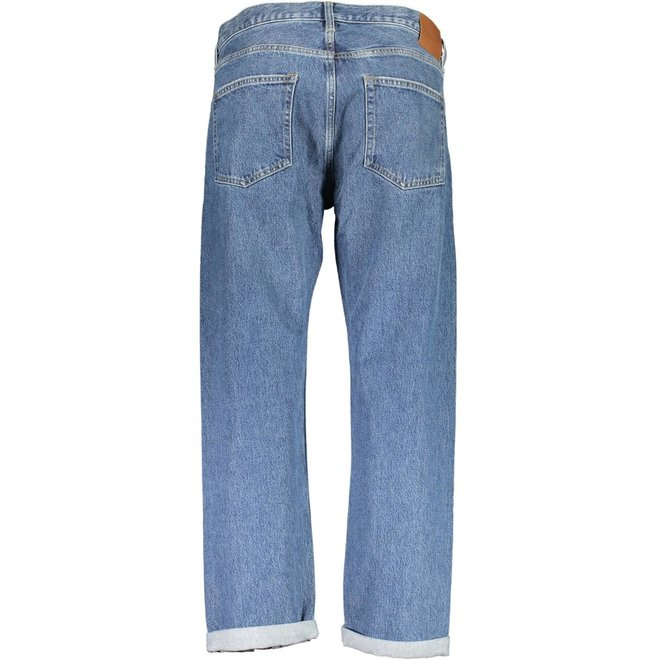 Regular Fit Jeans - Mid blue worn in