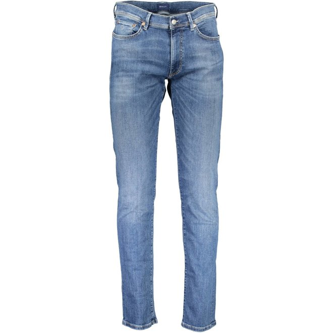 Extra Slim Fit Active-Recover Jeans - Mid worn blue