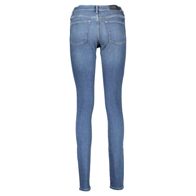 Blue Skinny Fit Super Stretch Jeans