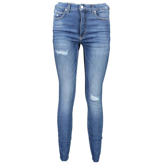 High Rise Super Skinny Ankle Jeans