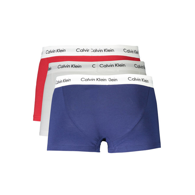 3 Pack Low Rise Trunks - Tricolor
