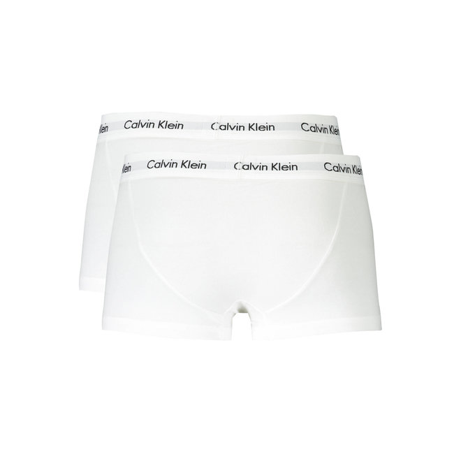 3 Pack Low Rise Trunks - White