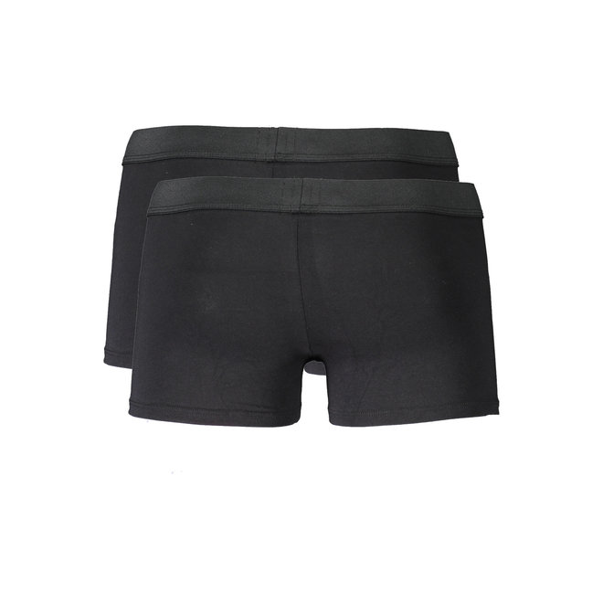 UBMX- Roccotwopack | 2 pack trunks in stretch cotton - Black