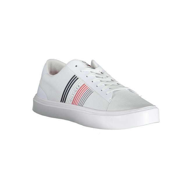 Lightweight Knit Low-Top Trainers - White