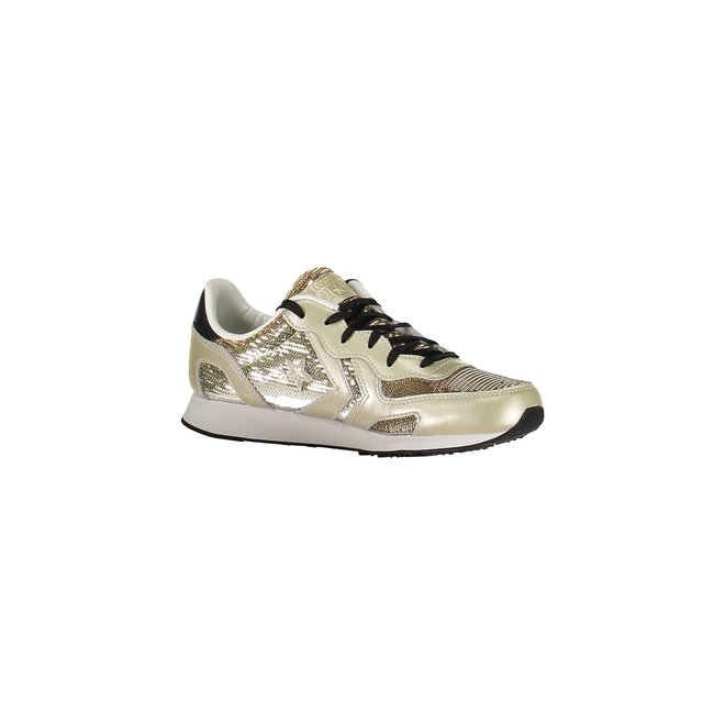 Auckland gold sequin sneakers
