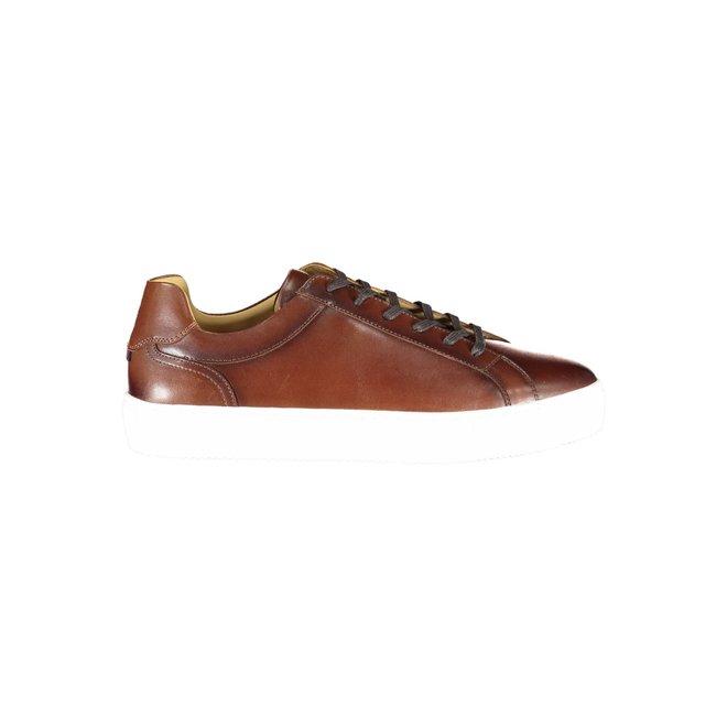 Premium Leather Cupsole - Cognac