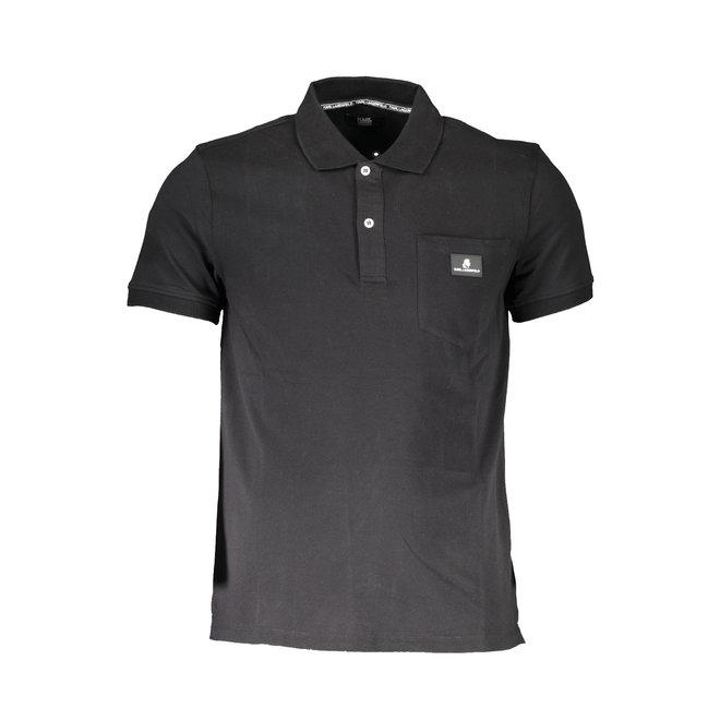 Classic Cotton Polo shirt - Black