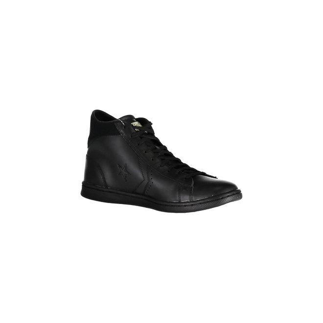 Pro Leather Lp Mid Leather - Black