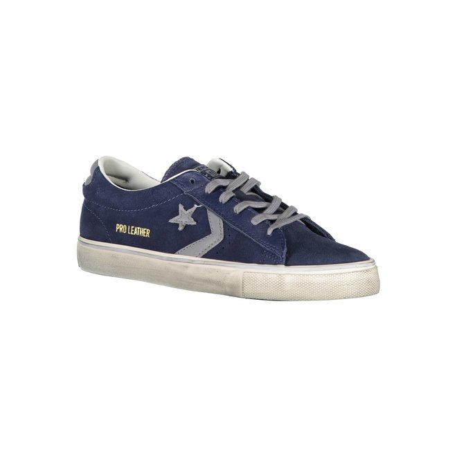 Pro Leather Vulc Low Suede Distressed - Blue