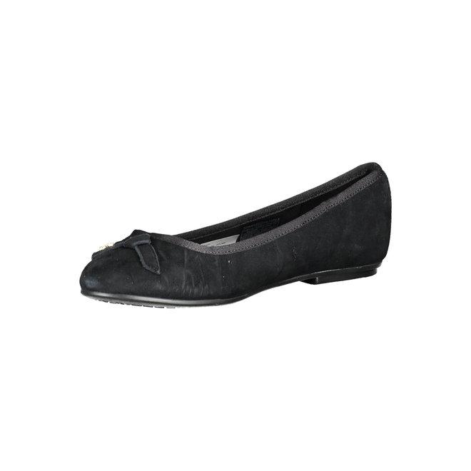 Suede Ballerina flats  - Black