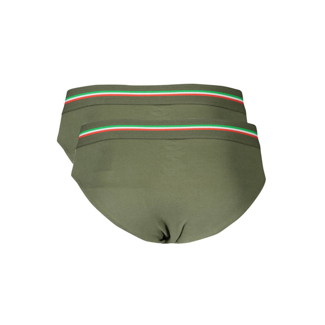 2 Pack Briefs - Army green