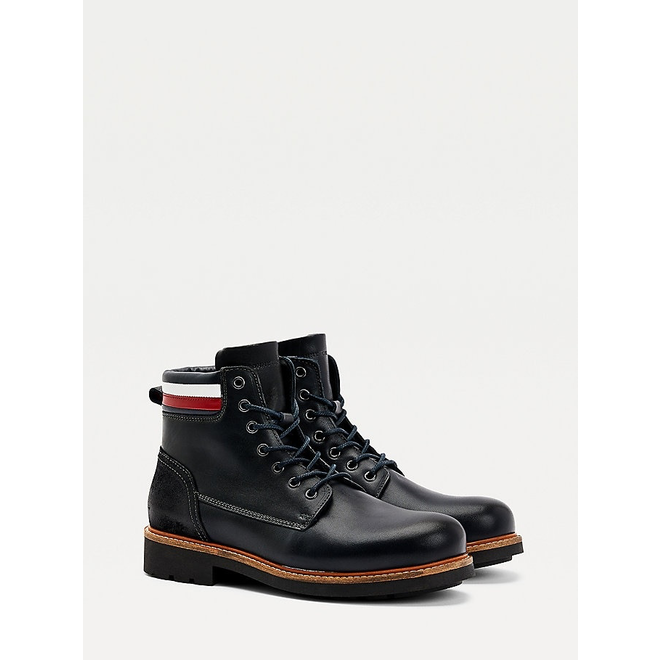 Knee High Boots men  - Black