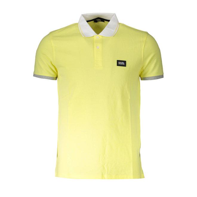 Basic Polo Shirt - Yellow