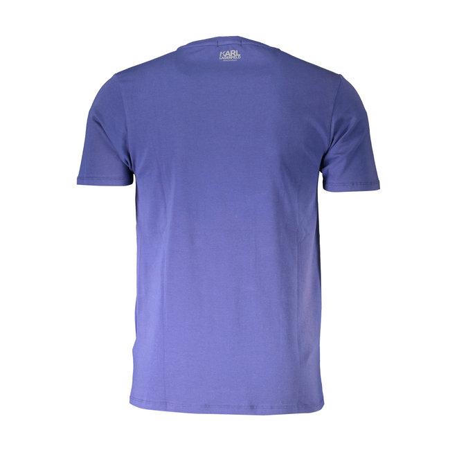 Cotton crew neck T-shirt - Blue