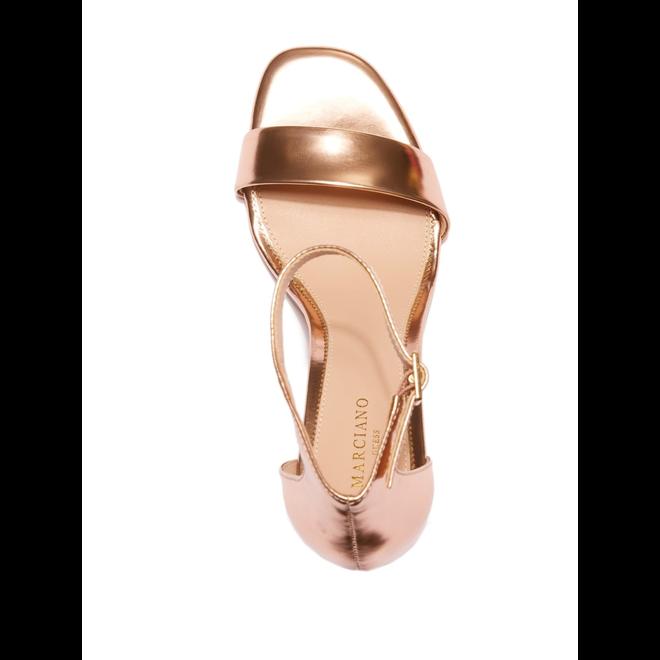 Vixen Metallic Heeled Sandal Guess Marciano