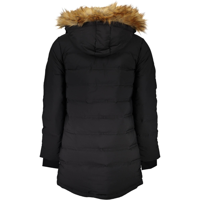 Marciano Long Quilted Look jacket - Black