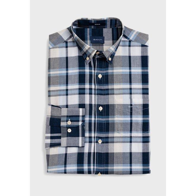Regular Fit Plaid Check Shirt
