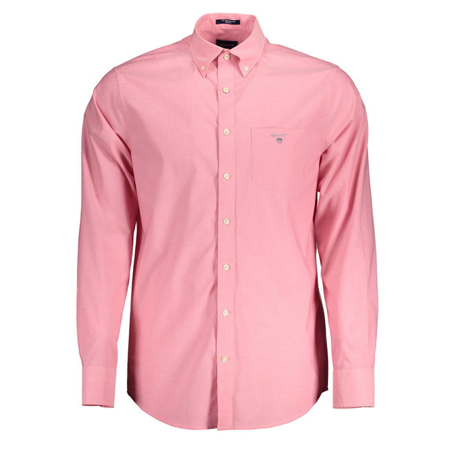 Regular Fit Broadcloth Shirt - Rapture Rose