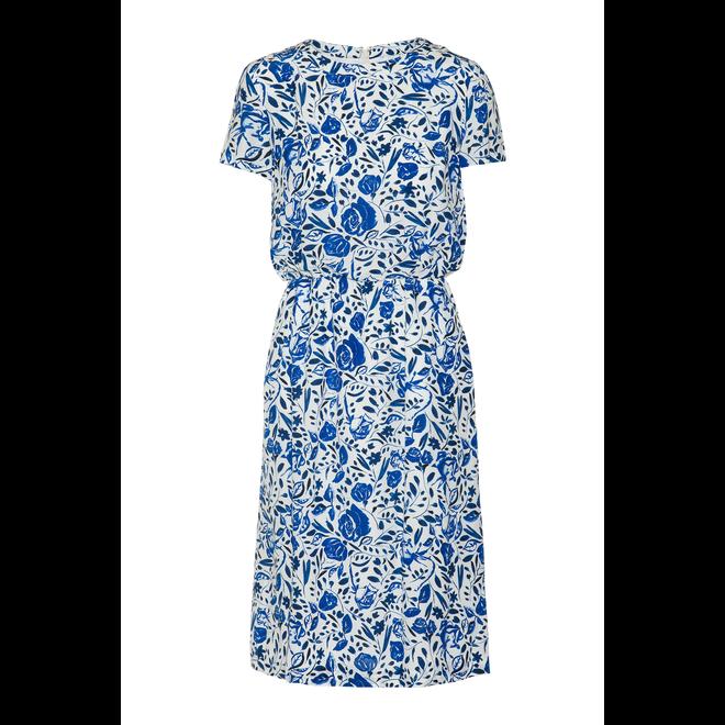 Relaxed fluid Short Sleeve Dress