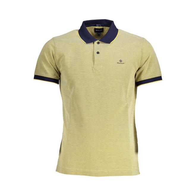 Yellow 4-Color Oxford Piqué Rugger men