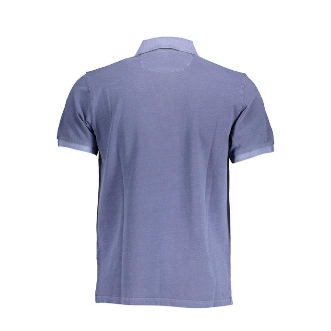 Sunfaded Piqué Rugger men - Insignia Blue