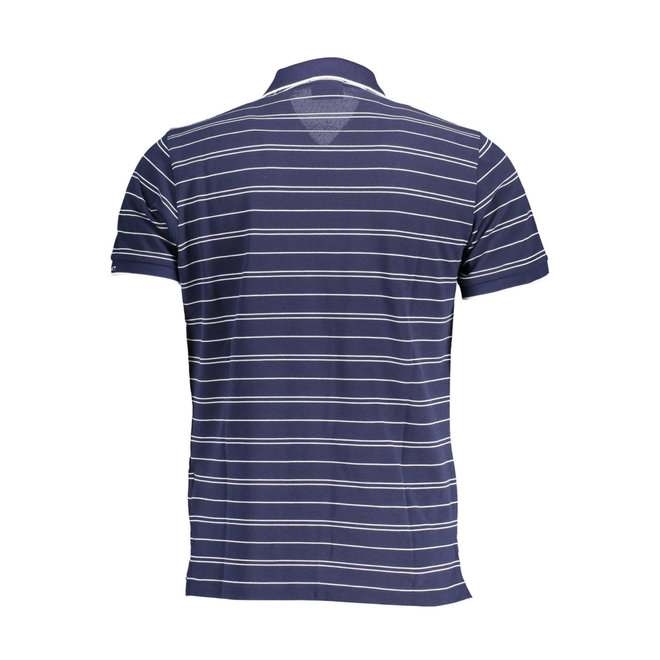 Blue Striped Gant Polo Men