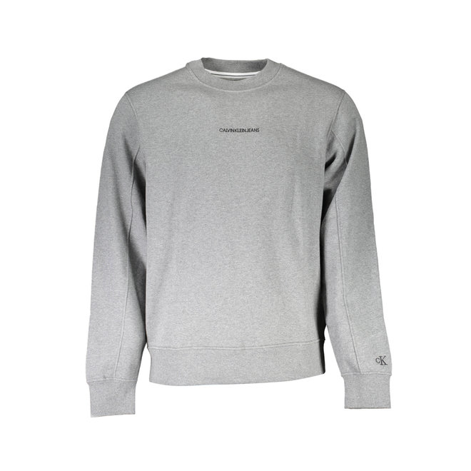 Cotton Terry Sweatshirt - Grey