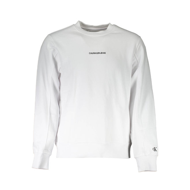 Cotton Terry Sweatshirt -White