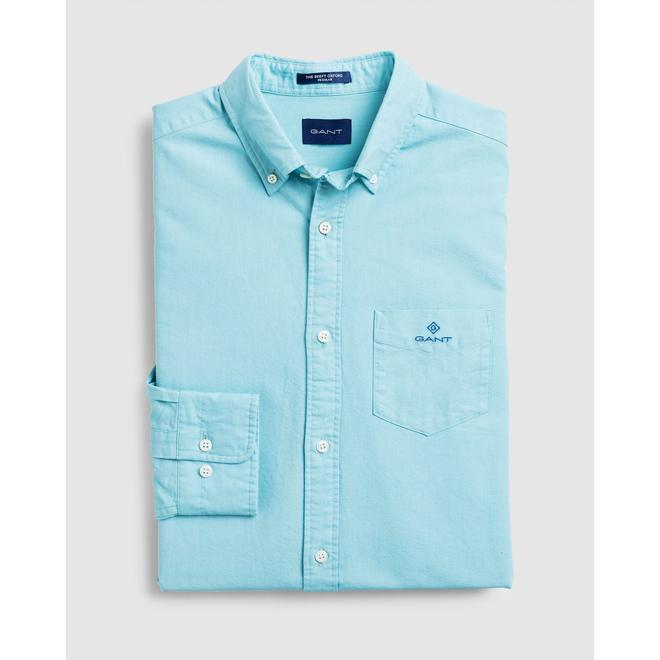 Regular Fit Beefy Oxford Shirt - Blue