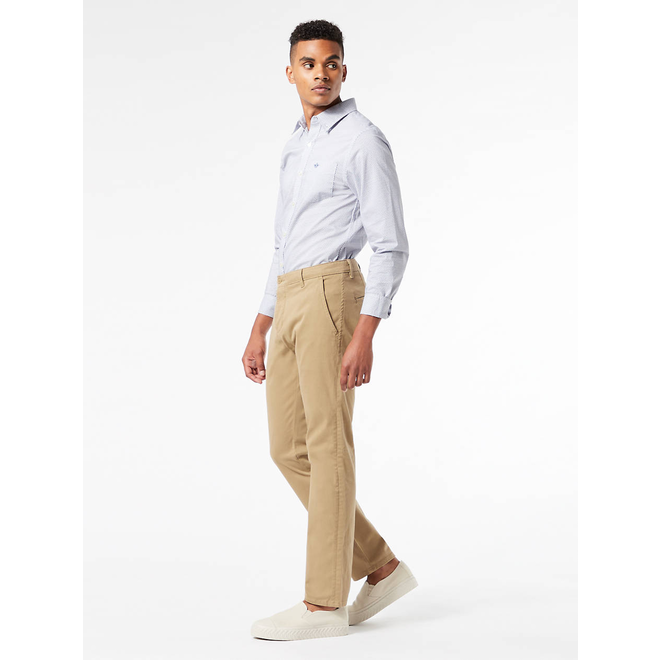 Alpha Men's Skinny Khakis - New British Khaki