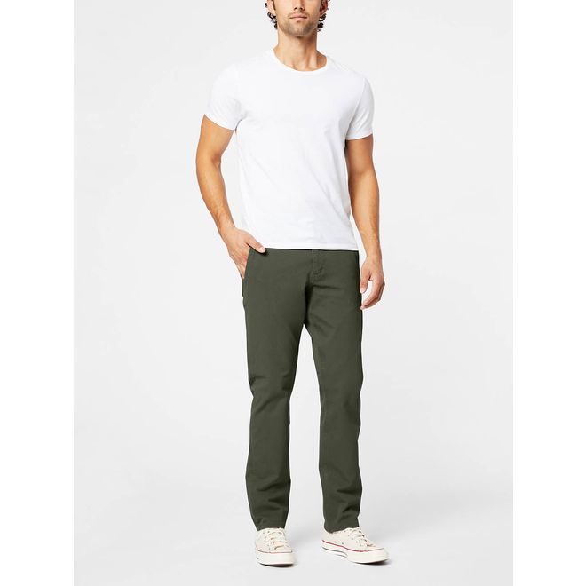 Alpha Khakis, Slim Fit - Olive green
