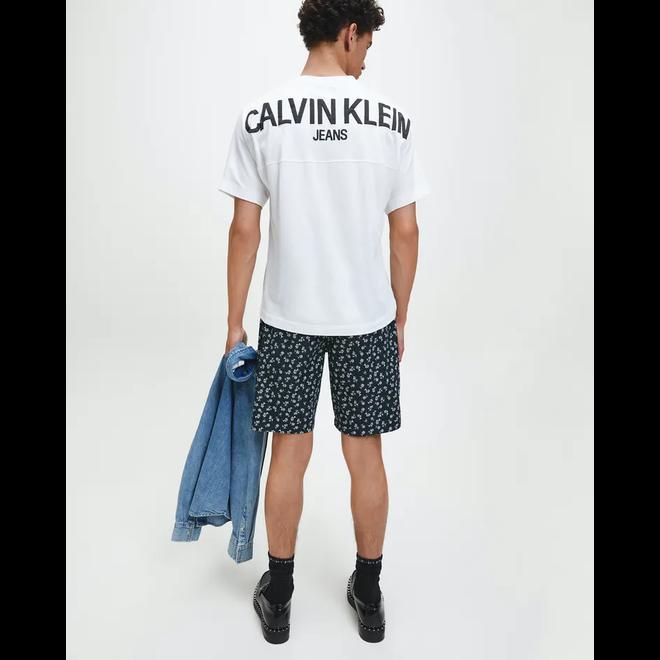 Organic Cotton Back Logo T-Shirt - White